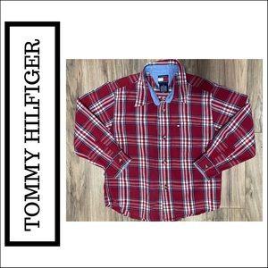 Boys Tommy Hilfiger Button Down Shirt Size 5